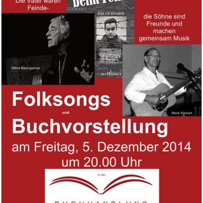 Folksongs mit Mack Stewart und Alfred Baumgartner am 5.12.2014