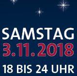 Lange Nacht der Kunst und Genüsse, 3.11.2018