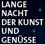 Lange Nacht der Kunst und Genüsse am 5.11.2016