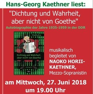 Lese- und Gesangsabend mit Hans- Georg Kaethner am 27.06.2018