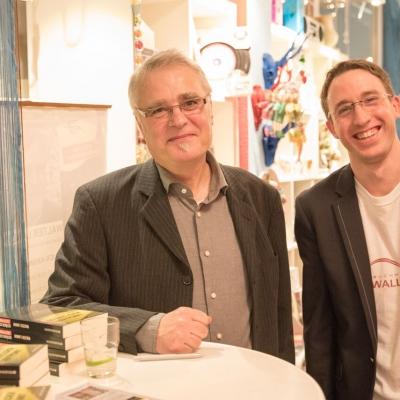 LNDKG 2015, Signierstunde mit Walter Landin