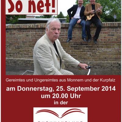 Pfalz-Literatett am 25.09.2014