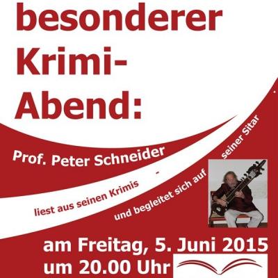 Prof. Peter Schneider am 5.06.2015