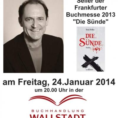"Toni Feller liest aus ""Die Sünde"", 24.01.2014"