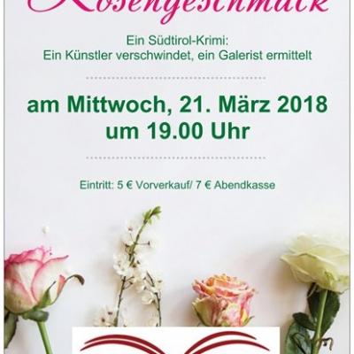 "Viola Eigenbrodt liest:""Rosengeschmack"", 21.3.2018"