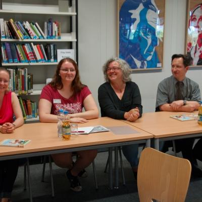 Vorlesewettbewerb Stadteilbibliothek Vogelstang 15./16.6.2015-Jurymitglied